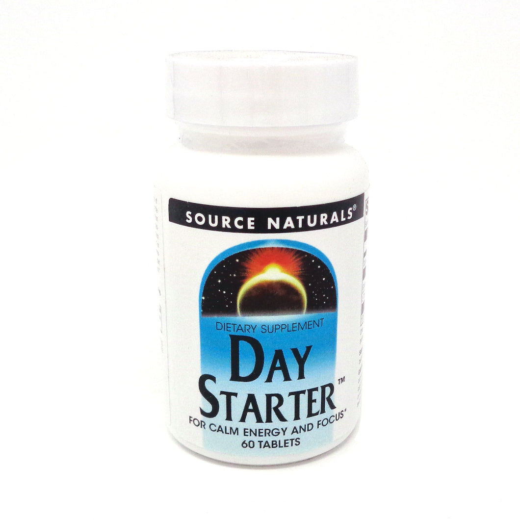 Day Starter by Source Naturals - 60 Tablets
