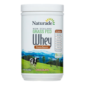 Naturade Grass Fed Whey Protein, Chocolate, 17.79 Oz