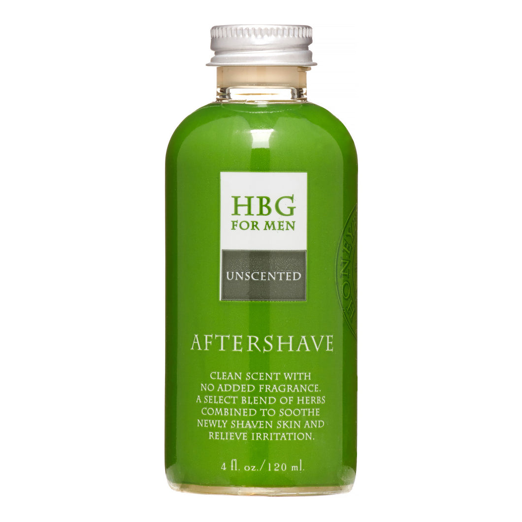 Honeybee Gardens Aftershave, Unscented, 4 Fl Oz