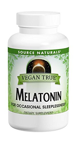 SOURCE NATURALS - Vegan True™ Vegan True™ Melatonin 2.5 mg 60 Orange Tablet 0 TABLET