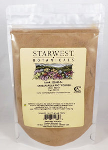 Starwest Botanicals - Sarsaparilla Root Powder 4 oz