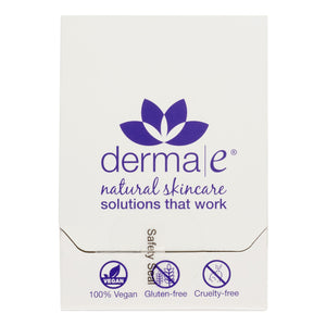 Derma E Natural Skincare Purifying Mask Packets, 18 Ct