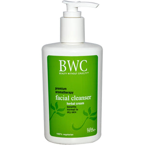 Facial Cleanser, Herbal Cream, 8.5 fl oz (250 ml)