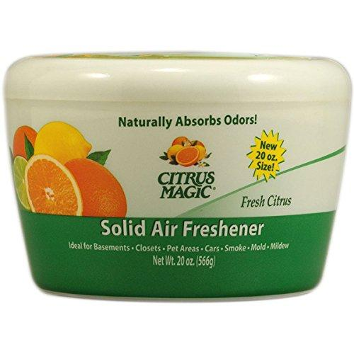 Citrus Magic Solid Air Freshener, 20 oz. Fresh Citrus