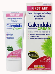 Boiron - Calendula Cream Homeopathic First Aid Medicine - 2.5 oz.