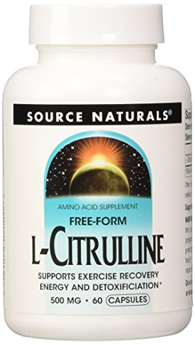 L Citrulline 500 mg Source Naturals, Inc. 60 Caps