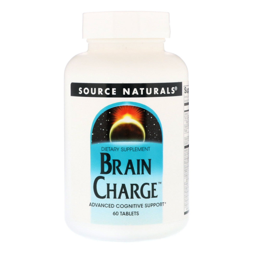 Source Naturals Brain Charge, 60 Tablets
