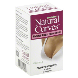 Biotech Natural Curves  Natural Herbal Supplement, 60 ea