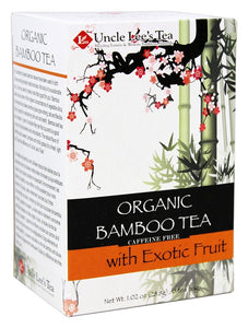 Uncle Lees Teas Organic Bamboo Tea, Exotic Fruits, 18 Ct