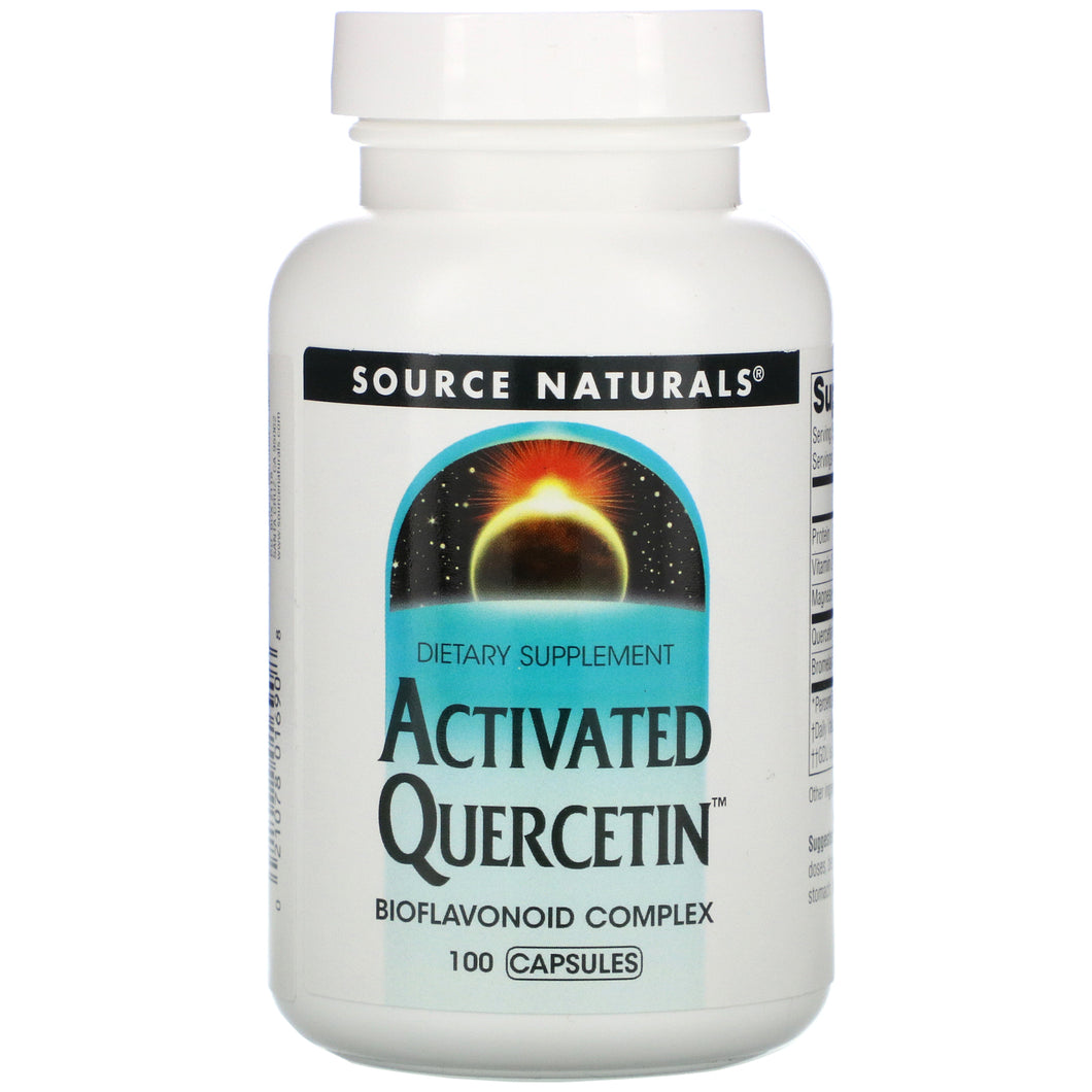 Source Naturals Source Naturals  Activated Quercetin, 100 ea