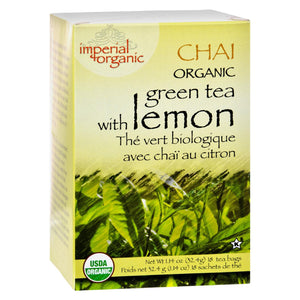 Uncle Lee'S Tea Organic Imperial Lemon Chai, 18 Bags