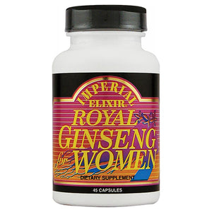 Imperial Elixir Royal Ginseng For Women Capsules - 45 Ea