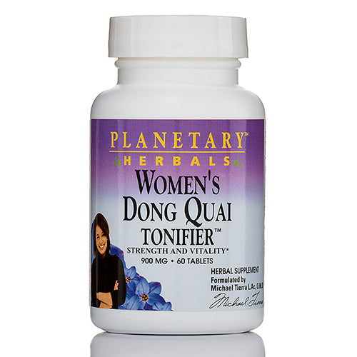 Women's Dong Quai Tonifer 900 mg - 60 Tablets by Planetary Herbals