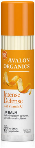 Avalon Organics Intense Defense Lip Balm 0.25 oz