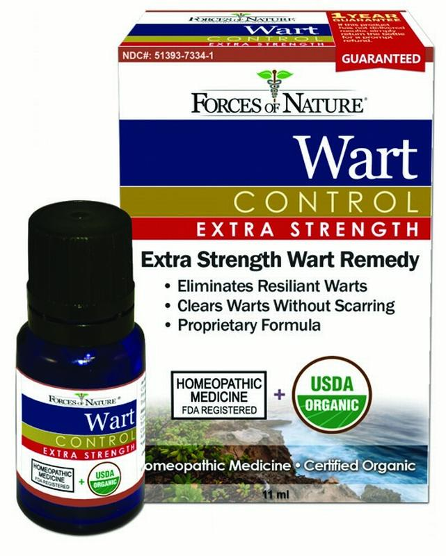 Forces Of Nature Wart Control Extra Strength, 11 ml