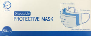 Disposable Face Mask 50/Box - Free Shipping