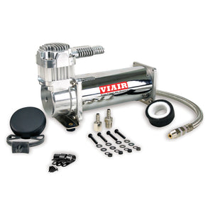 Air Suspension Compressor Single Chrome 444