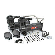 Load image into Gallery viewer, Air Suspension Compressor Dual Black 444