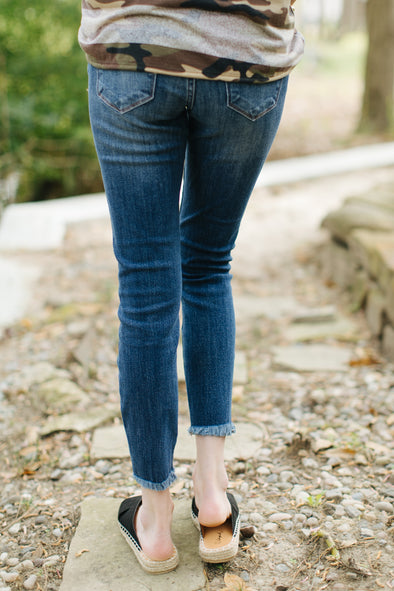 Lindsey KanCan Ripped Blue Jeans