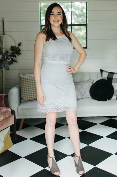 Arya Light Grey Dress