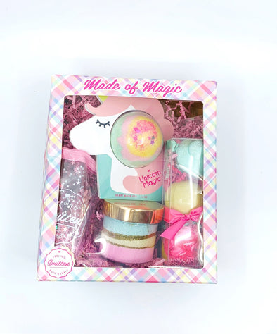 Magic Unicorn Box - Rhinestone Leopard