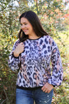 Zuri Leopard Top