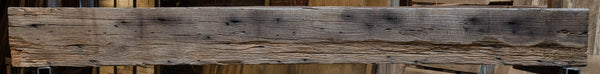 Barn Beam Fireplace Mantel 2016-001