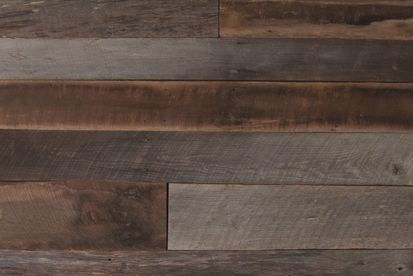 Mixed barnwood hardwood siding wabash lumber co for Barnwood plywood