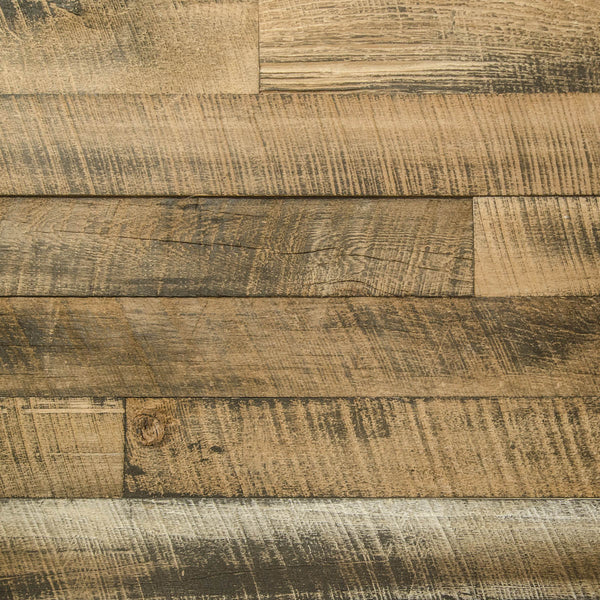 PlankWood Reclaimed Whiskey Barnwood - Easy Install (20ft² Bundle)