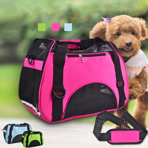 Top Quality Dog Carriers For Small Dogs Sport Style Pet Dog Cat Puppy Front Carrier Mesh Comfortable Travel Tote Shoulder Bag Sp