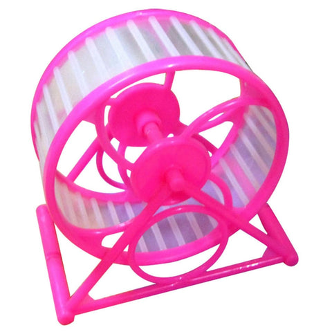 Pet Jogging Hamster Mouse Mice Small Exercise Toy Running Spinner Sports Wheel Small Pets Supplies Best selling Random Color