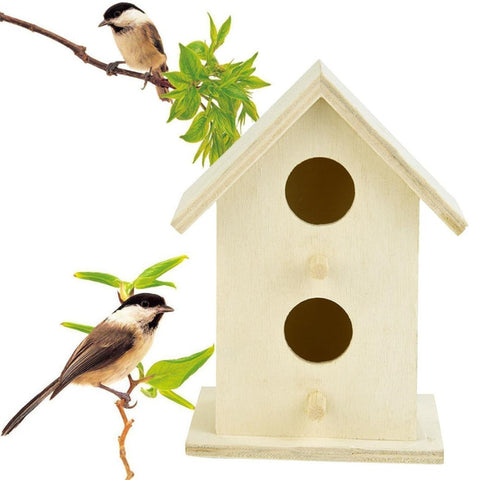 NEW Birds Wooden Boxes 1pc Nest House Bird House Boxes Bird Box Wooden Box 35