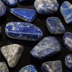 50g Natural Blue Lapis Lazuli Crystal Specimen Mineral Rock Stone Healing Aquarium Fish Tank Materials Decor Mini Stone Crafts