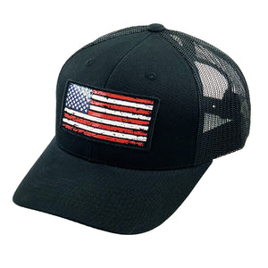 USA Flag Patch Hat