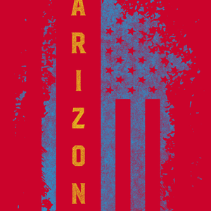 Arizona US Flag Red Tee