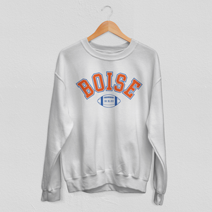 Boise In Blue Sweatshirt