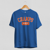 Champs In Blue Tee