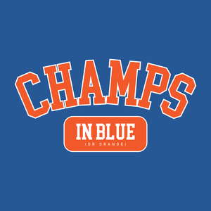 Champs In Blue Hoodie