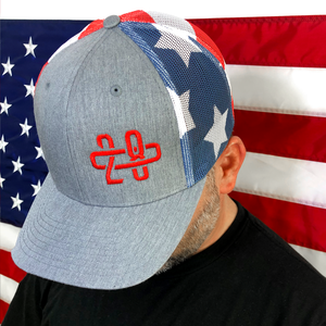 208 America Trucker Hat Side