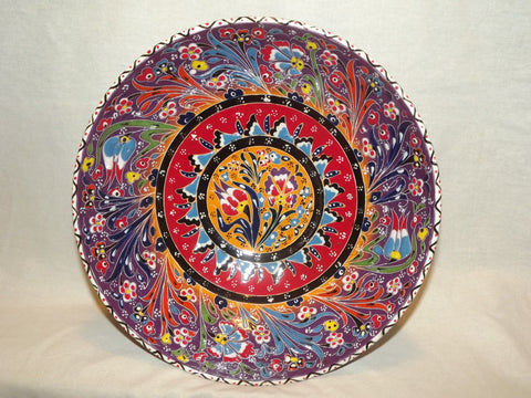 Turkish Plates & Hand Painted Ceramic Plates from Turkey | perfect present shop