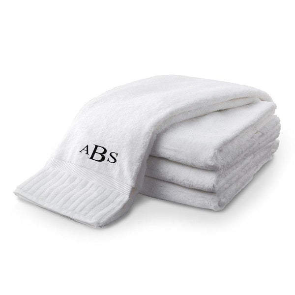 Personalized Bath Towels - Set of 4