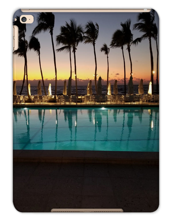 An Evening Swim iPad Cases