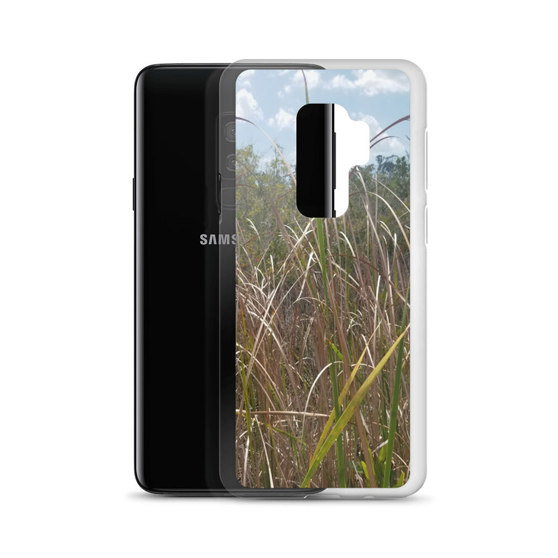 """Grass"" Samsung Phone Case-Phone Case-Tropical Scenery-Tropical Scenery"