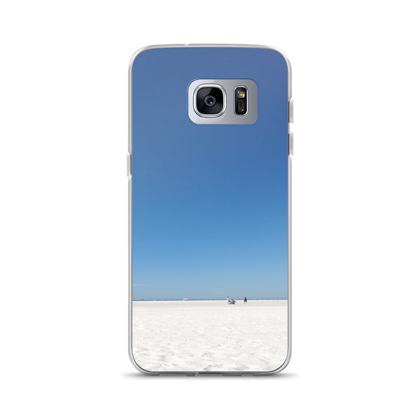 """Beach Life"" Samsung Phone Case-Phone Case-Tropical Scenery-Samsung Galaxy S7 Edge-Tropical Scenery"