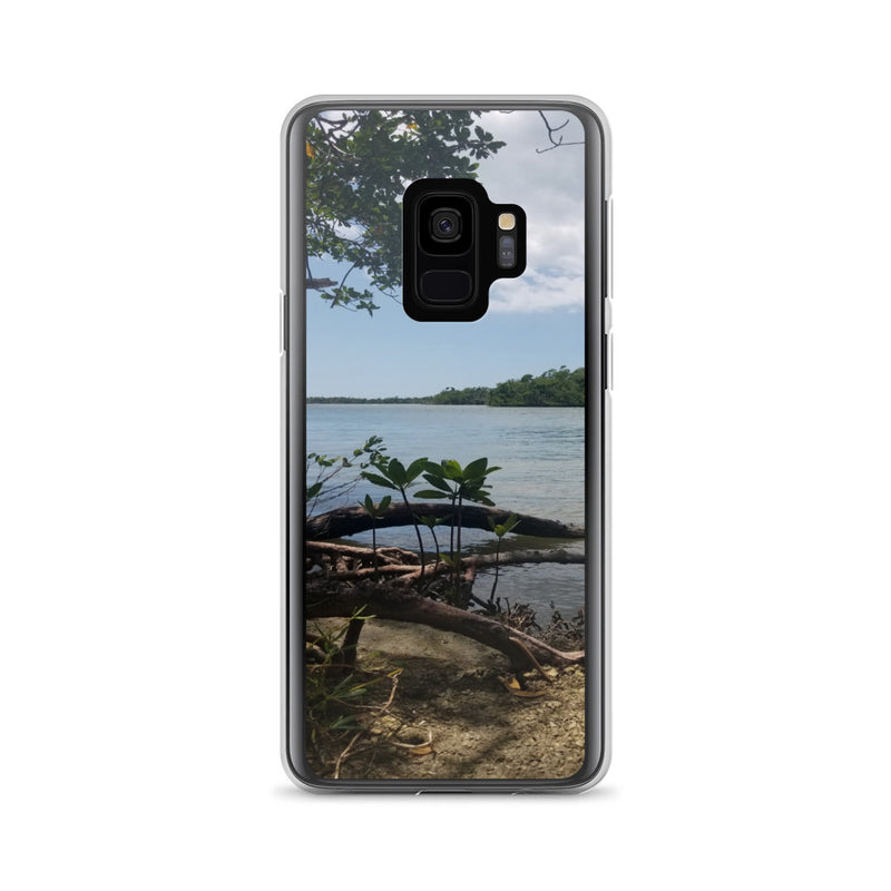 """Scenic View"" Samsung Case-Phone Case-Tropical Scenery-Samsung Galaxy S9-Tropical Scenery"