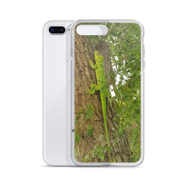 Iguana Green iPhone Case