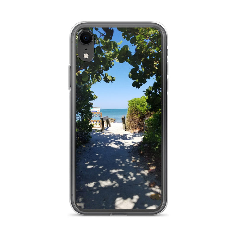 Beach Pass iPhone Case-Tropical Scenery-iPhone XR-Tropical Scenery