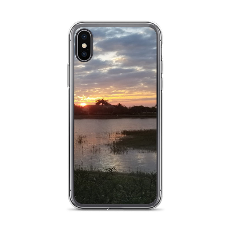 """Endless Summer"" iPhone Case-Phone Case-Tropical Scenery-iPhone X/XS-Tropical Scenery"