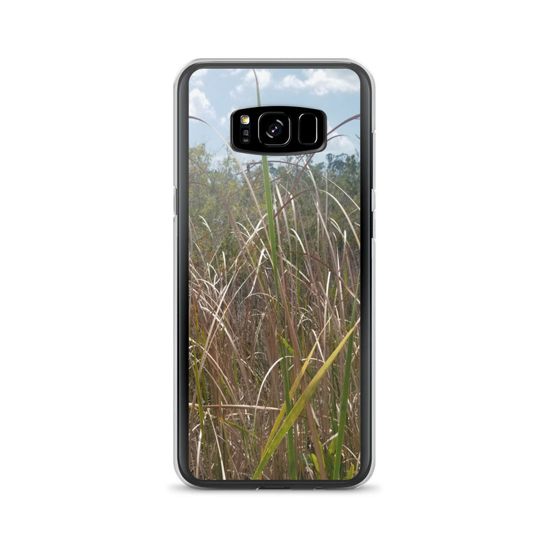 """Grass"" Samsung Phone Case-Phone Case-Tropical Scenery-Samsung Galaxy S8+-Tropical Scenery"