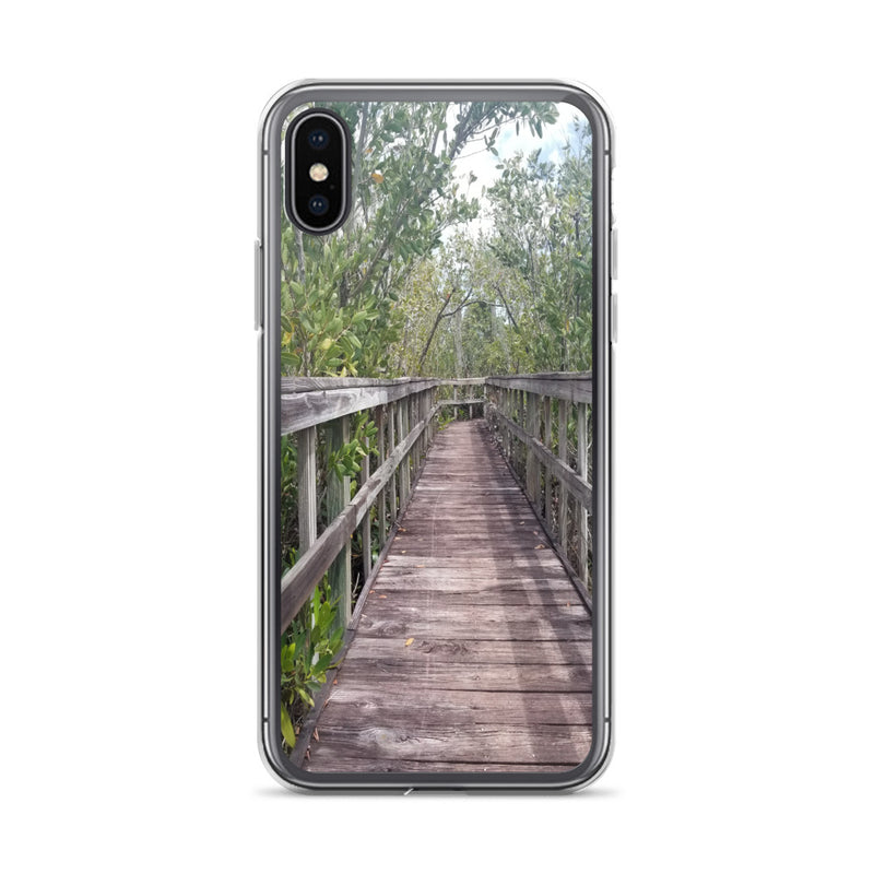 """Out Back"" iPhone Case-Phone Case-Tropical Scenery-iPhone X/XS-Tropical Scenery"